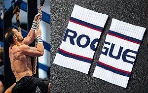 Munhequeira Rogue Bands - Cor: Branco/Azul/Vermelho
