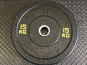 Anilha Olímpica Hi-Temp - Peso Kilos impresso em Cores - unidade