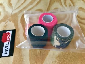 Kit Atadura (Thumb Tape) com 3 unidades