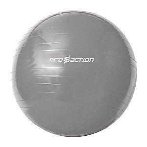Bola Suiça de Ginástica e Pilates - 65cm - Cor cinza
