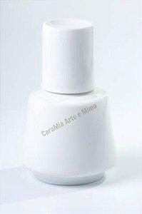 Moringa Branca Lisa em Porcelana 750 ml