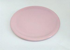 Bandeja Cerâmica Rosa Bebê 30 cm