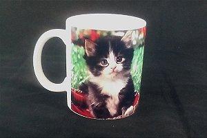 Caneca Personalizada Gato