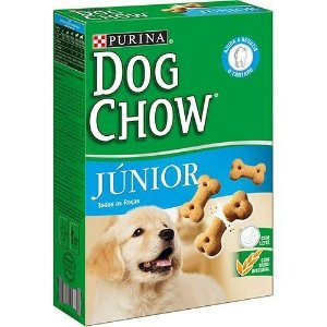 Biscoito Dog Chow Biscuits Junior 300g