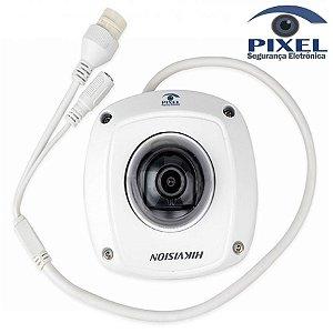 Câmera IP Mini Dome Compacta da Hikvision - Lente de 2.8mm