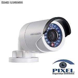 Câmera IP Bullet da Hikvision com resolução de 2 Megapixels com PoE - Lente fixa de 4mm