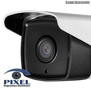 Câmera IP Box da Hikvision com resolução de 4 Megapixels com PoE - Lente fixa de 4mm