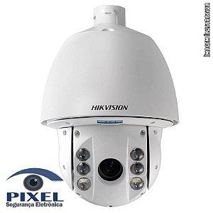 Câmera Speed Dome PTZ IP de 30x (Ótico) e 16x (Digital) da Hikvision com resolução de 2 Megapixels