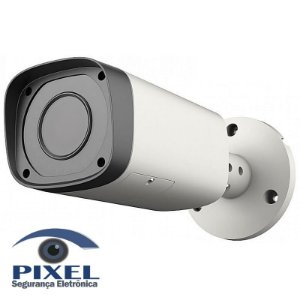 Câmera Bullet IP varifocal da Dahua com resolução de 3 Megapixels - Lente de 2.8mm a 12mm