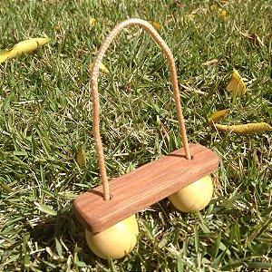 Puxa-puxa de madeira para bebês