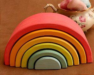 Arco-íris Mini Rosa 6 Peças