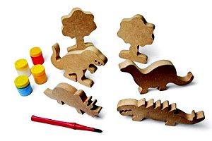 Kit Família Dinossauro