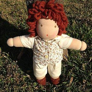 Boneco de pano Rafael - 40cm