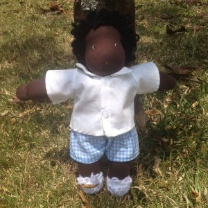 Boneco de Pano Waldorf - Heleno 30cm
