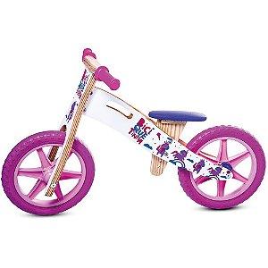 Biciquetinha Unicórnio (Bicicleta de equilíbrio)