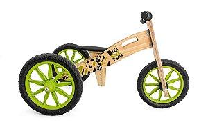 Triciclo 2 em 1Biciquetinha Florestinha (Bicicleta de equilíbrio)