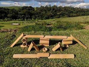 Kit construção TAO Bambu - Sacola