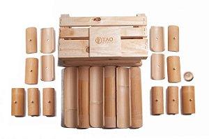 Kit construção TAO Bambu - Caixa de Madeira