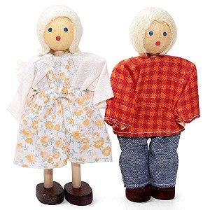 Bonecos de madeira (Kit de Crianças)