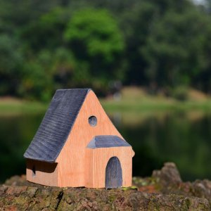 Casinha de madeira - Jogo I