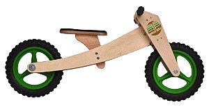 Woodbike (Balance Bike de madeira 2 em 1)