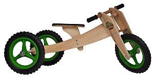 Woodbike (Balance Bike de madeira 3 em 1)