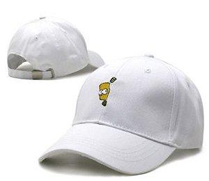 Boné Branco- Simpson 1.0 (Strapback)