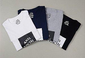 Camisetas Anti Social Club ( Diversas Cores )