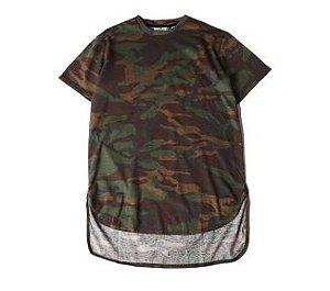Camiseta Camuflada - Unissex