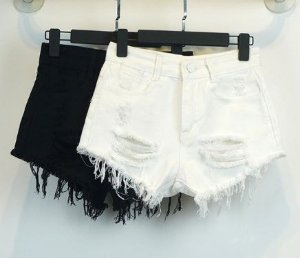 Shorts Feminino - Destroyed (Diversas Cores)