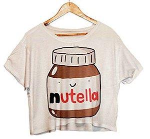 Camiseta Feminina - Nutella