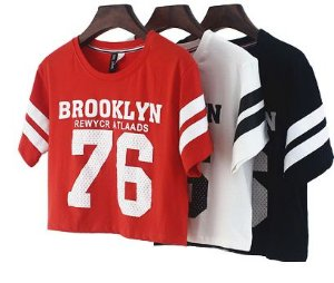 Cropped Brooklyn 76 - Diversas Cores