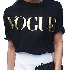 Camiseta VOGUE - Feminina (Diversas Cores)