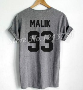 Camiseta Unissex - Malik 93 (Diversas Cores)