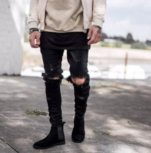 Calça Black Destroyed - KAYNE