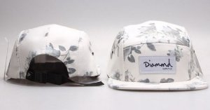Boné 5 Panel Diamond Supply CO - FLWT
