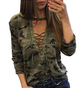 Camiseta Feminina - GDCAMO