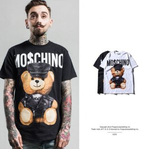 Camiseta Masculina - MO$CHINO BASIC