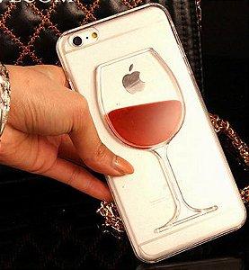 Capinha Iphone - Vinho