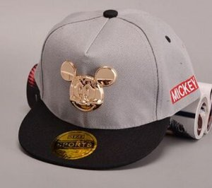 Boné Snapback - Grey Mickey GOLD