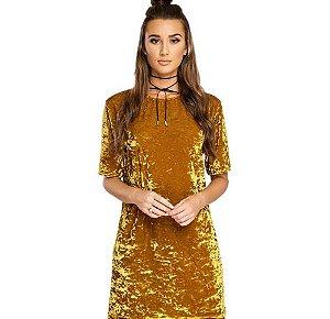 Vestido Feminino Spring - Amarelo