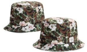 Chapéu Bucket Cayler & Sons - Camo and Roses