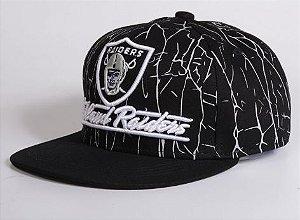 Boné Snapback Oakland Raiders - Preto