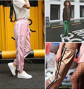 Calça Feminina Listras - Diversas cores