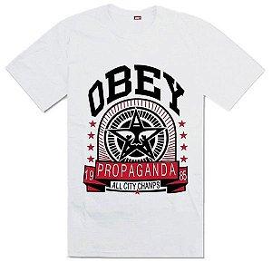 Camisetas - OBEY ( Diversas Cores )