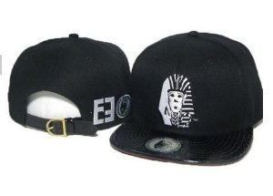 Boné Strapback LastKings - Leather Black