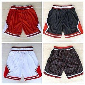 Shorts Basquete NBA - Chicago Bulls 23 JORDAN