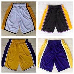 Shorts Basquete NBA - Lakers (Diversas Cores)