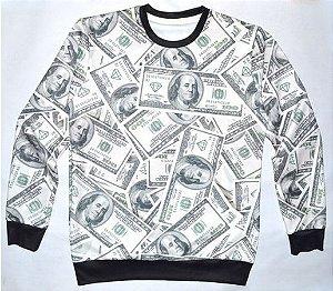 Moletom Sem Capuz - Dollares