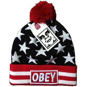 Touca OBEY Personalizada Estrelas - EUA ( PRONTA ENTREGA )